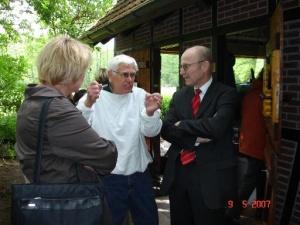 Dieter Heitmann im Gespräch mit Robert Lemke